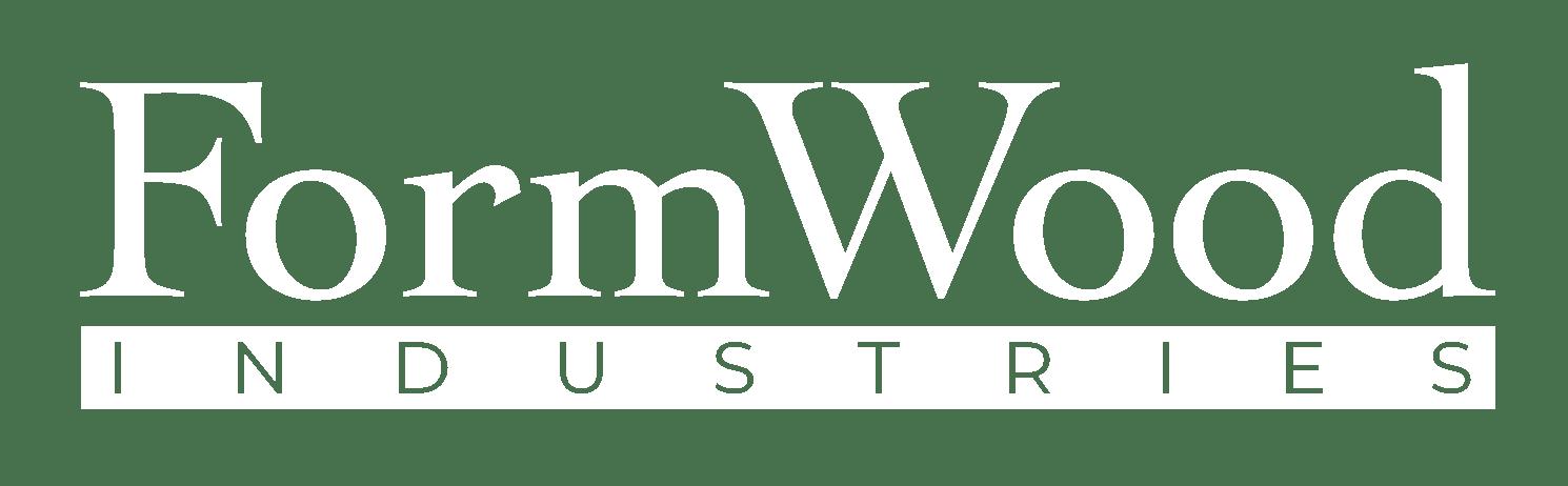 FormWood logo white