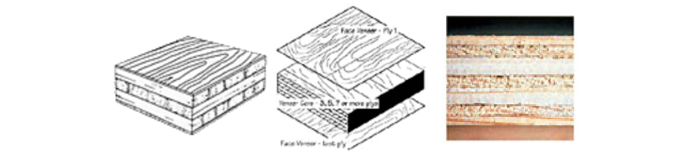 Veneer Core Plywood Diagram